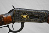 WINCHESTER 1894 CARBINE - HIGH ART MASTERWORK - FULLY ENGRAVED WITH GOLD