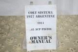 COLT GOVERNMENT MODEL 1911 - REPUBLICA ARGENTINA ARMADA NACIONAL - 9 of 9