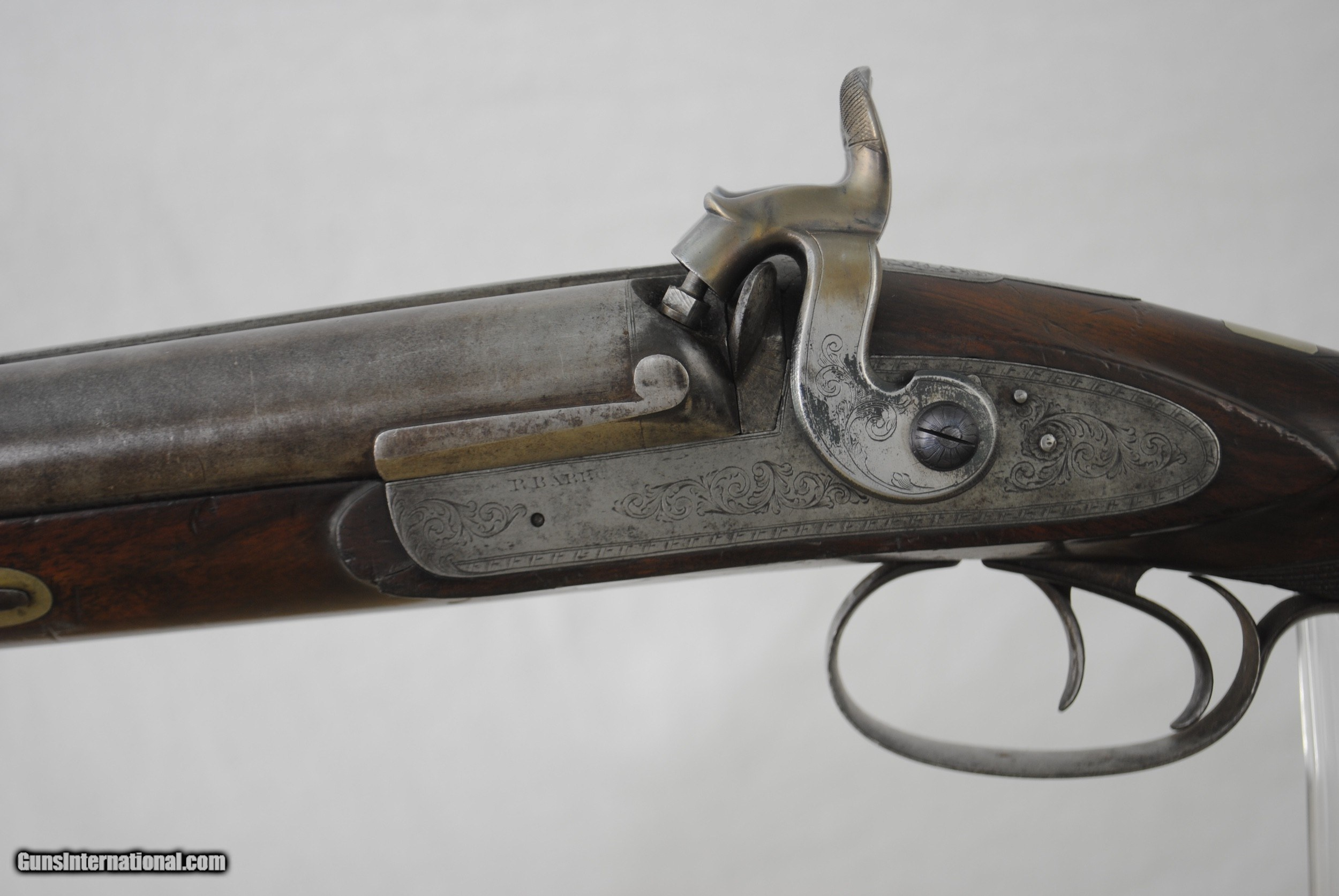 R BARR - NEW YORK - MASSIVE WATERFOWL GUN IN 10 GAUGE WITH 35