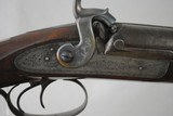 "R BARR - NEW YORK - MASSIVE WATERFOWL GUN IN 10 GAUGE WITH 35"" BARRELS - ANTIQUE - 10 of 18"