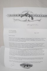 SMITH & WESSON MODEL 36 - SPECIAL ORDER VARIATION WITH FACTORY LETTER - 11 of 12