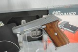SIG MODEL 230SL SS - MINT WITH BOX AND PAPERWORK - 2 of 6