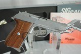 SIG MODEL 230SL SS - MINT WITH BOX AND PAPERWORK - 1 of 6