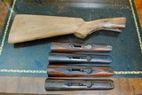 LOT OF 4 ORIGINAL PARKER FORENDS AND1 STOCK