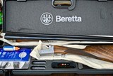BERETTA MODEL 471 SILVER HAWK - 12 GAUGE WITH EJECTORS - STRAIGHT GRIP WITH WELL FIGURED WOOD
