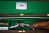 ALEXANDER HENRY BEST QUALITY DOUBLE RIFLE - 500 BPE - CASED - ANTIQUE MADE IN 1876