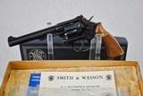 SMITH & WESSON K-22 MASTERPIECE REVOLVER - COLLECTOR CONDITION - 1 of 18
