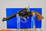 COLT SINGLE ACTION IN 45 LC - 99% CONDITION WITH BLUE BOX
