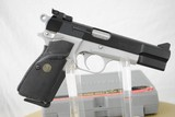 BROWNING HI POWER TWO TONE PRACTICAL - MINT WITH BOX AND PAPERWORK - SALE PENDING