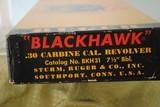 VINTAGE RUGER BLACKHAWK IN 30 CARBINE WITH ORIGINAL BOX - SALE PENDING - 7 of 12