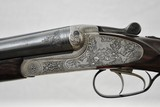 MERKEL 65E - FULL COVERAGE ENGRAVED SIDELOCK EJECTOR GUN MADE IN 1974 - COLLECTOR CONDITION