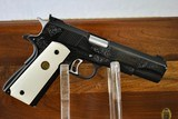 COLT GOLD CUP NATIONAL MATCH SERIES 70 - ENGRAVED - WITH PRESENTATION CASE