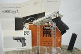WALTHER PPK/S NICKEL PLATED WITH BOX AND PAPERS - 10 of 13