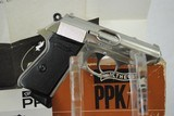 WALTHER PPK/S NICKEL PLATED WITH BOX AND PAPERS - 1 of 13