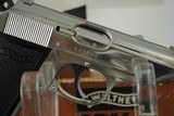WALTHER PPK/S NICKEL PLATED WITH BOX AND PAPERS - 3 of 13