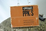 WALTHER PPK/S NICKEL PLATED WITH BOX AND PAPERS - 6 of 13
