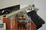 WALTHER PPK/S NICKEL PLATED WITH BOX AND PAPERS - 5 of 13