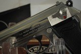 WALTHER PPK/S NICKEL PLATED WITH BOX AND PAPERS - 4 of 13