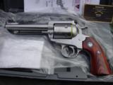 New Ruger Bisley Blackhawk 45 Colt 5 1/2