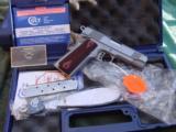 Colt Series 80 Combat Commander 45 ACP SS NIB - 1 of 11