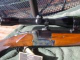 Merkel 210E Combination Gun w/ Schmidt & Bender Scope in Claw Mounts
