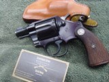 Colt Cobra-First Model, with holster
