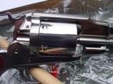 "Uberti, Taylors, 1858 Remington Conversion 8""Nickel, 45LC - 8 of 12"