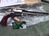 "Uberti, Taylors, 1858 Remington Conversion 8""Nickel, 45LC - 7 of 12"