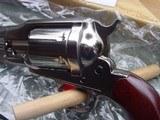 "Uberti, Taylors, 1858 Remington Conversion 8""Nickel, 45LC - 4 of 12"