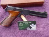 Colt Woodsman Match Target With Box and papers and 2 mags.