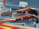 Hamliton and Burr Limited Edition,cased Dueling Pistols - 2 of 12