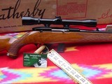 Weatherby Mark XXII Deluxe,factory scope, box, papers,hang tag. - 2 of 15