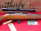 Weatherby Mark XXII Deluxe,factory scope, box, papers,hang tag. - 14 of 15