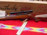 Weatherby Mark XXII Deluxe,factory scope, box, papers,hang tag. - 3 of 15