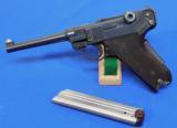 Swiss Model 1929 Semi Auto Luger Pistol - 1 of 6