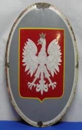 Polish Embassy Shield (Rare) Pre-War WW II era - 1 of 2