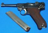 German P.08 Luger Pistol with Police Academy Markings - 10 of 11