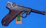 German P.08 Luger Pistol with Police Academy Markings - 8 of 11