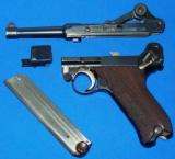 German P.08 Luger Pistol with Police Academy Markings - 11 of 11