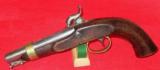 US Model 1842 Ames Boxlock Navy Pistol - 3 of 6
