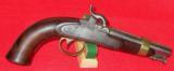 US Model 1842 Ames Boxlock Navy Pistol - 1 of 6