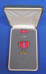 US Bronze Star Cased (Named),- 3 of 4
