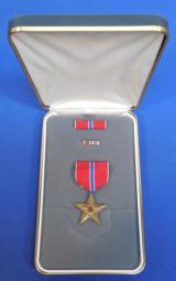US Bronze Star Cased (Named),- 1 of 4
