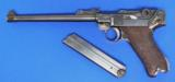 DWM Artillery Luger Semi Auto Pistol - 1 of 7