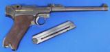 DWM Artillery Luger Semi Auto Pistol - 2 of 7