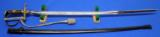 WWII German Officer's Prinz Eugen Sword with Scabbard and Portopee - 3 of 17