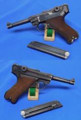 German P.08 Luger Pistol (Bringback Named)