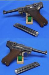 "German P.08 Luger ""G"" date Pistol"