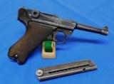 German P.08 Luger S/42 Pistol - 2 of 9