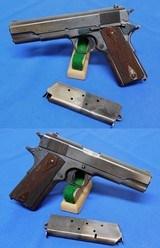 Colt M.1911 US Army S/A Pistol (1914)